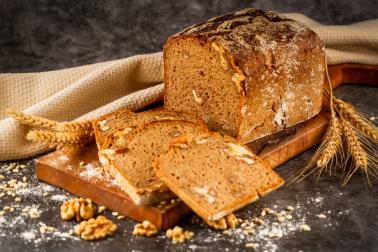 Zennup - Ekşi Mayalı %100 Cevizli Çavdar Ekmeği 600 gr