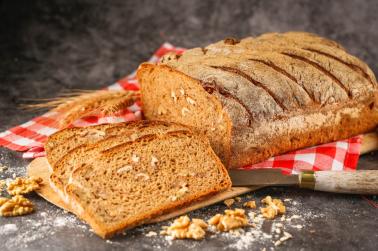 Zennup1844 - Ekşi Mayalı Cevizli Tam Buğday Ekmek 1000 gr