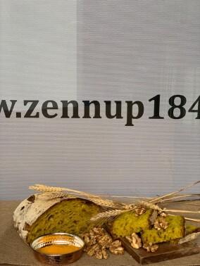 Zennup1844 - Ekşi Mayalı Zerdeçallı Cevizli 1000 gr